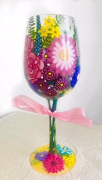 Spring Wine 2018 Glass